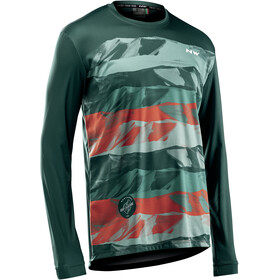 Northwave Enduro Maillot Manga Larga Hombre, green forest